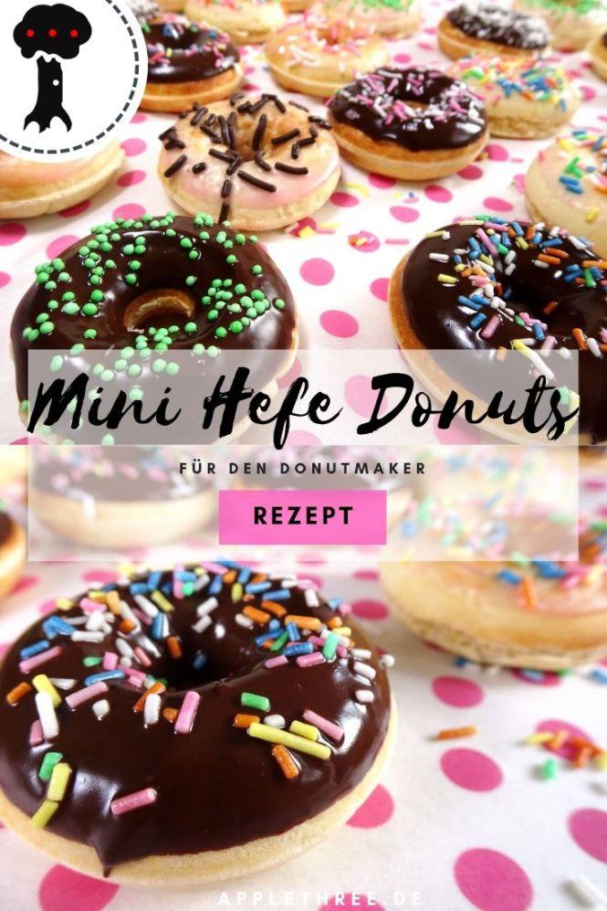 hefe donuts rezept