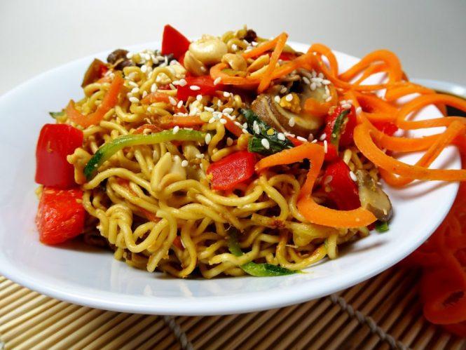 wok rezepte asia nudeln