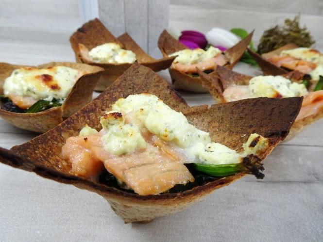 mini tortilla rezept cups kaese