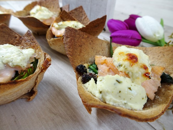 mini tortilla rezept cups lachs