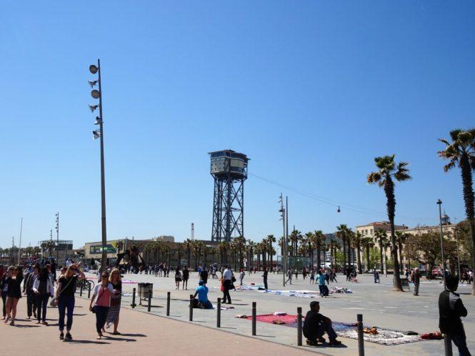 barcelona tipps gondelstation