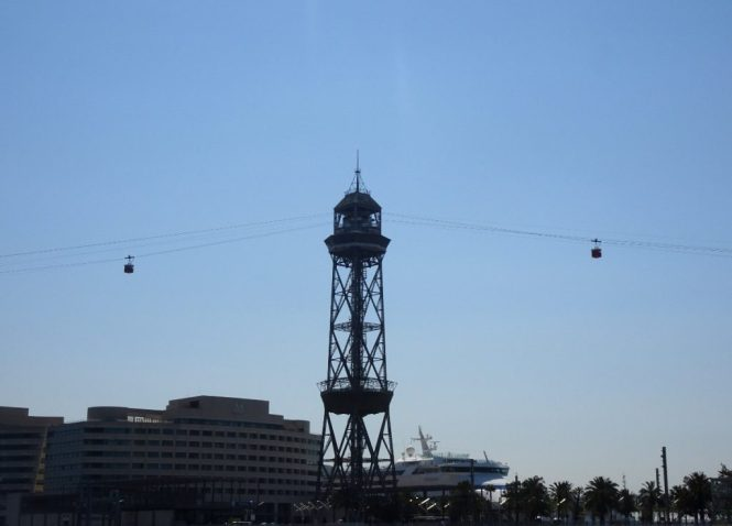 barcelona sightseeing hafen