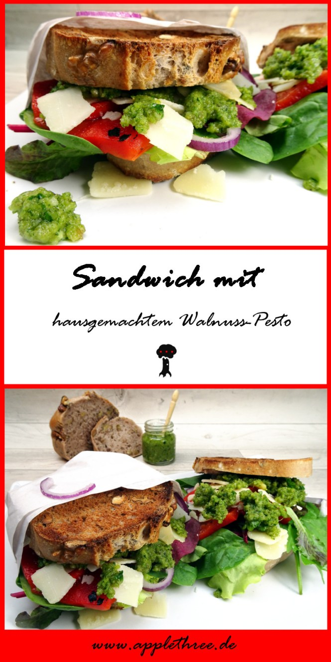 sandwich walnuss pesto pin