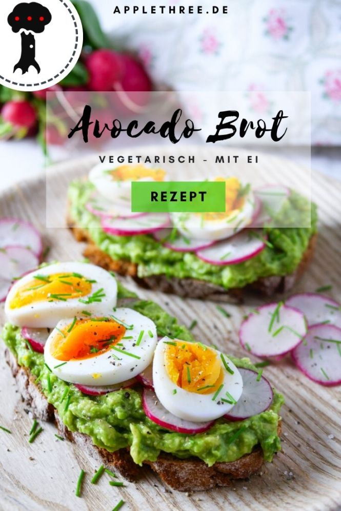 avocado brot