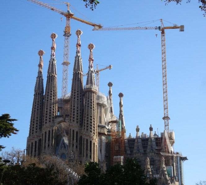 barcelona strand städtereise citytrip sagrada familia