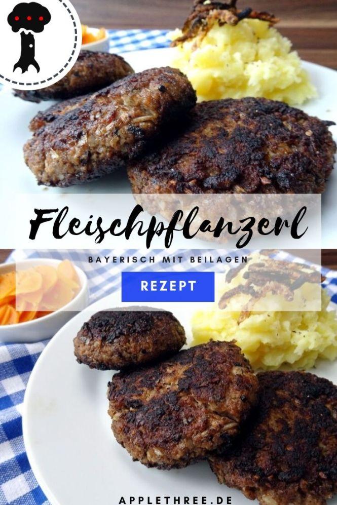Fleischpflanzerl Rezept mit Beilage bayerisch