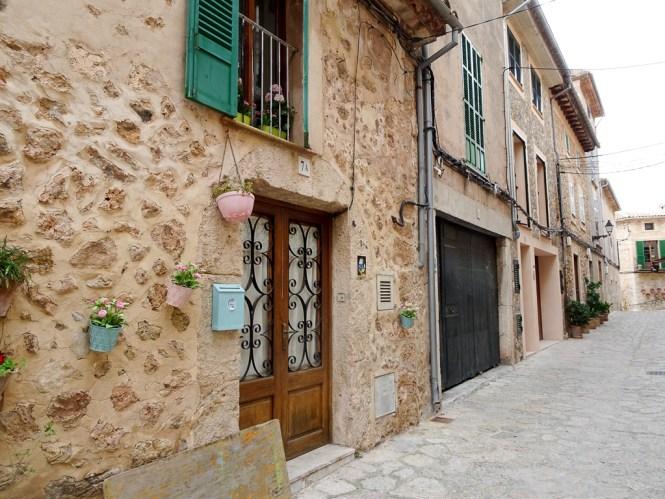 Mallorca Westen Valldemossa stadtbild