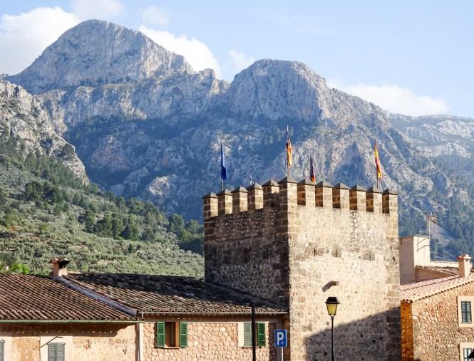 Mallorca Westen fornalutx