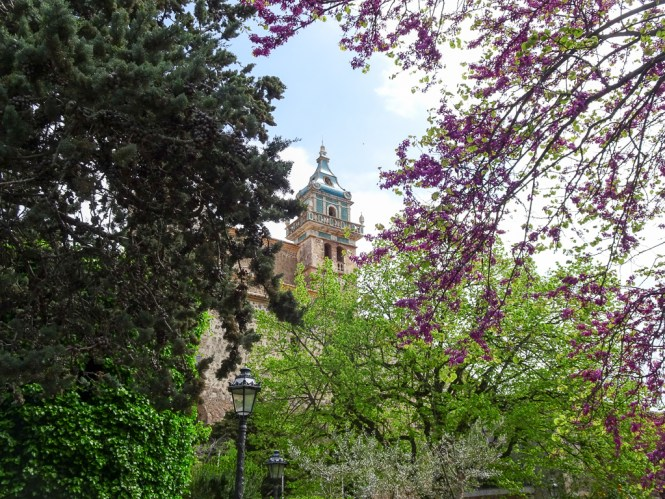 Mallorca Westen valldemossa kirche