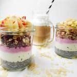 Frühstück to go mascarpone joghurt