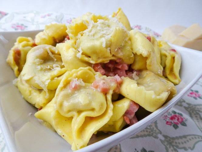 Tortellini Carbonara Rezept