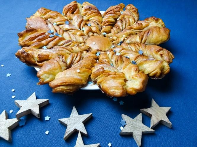 Hefe Zimtstern Zimt Brotstern Weihnachtsrezept