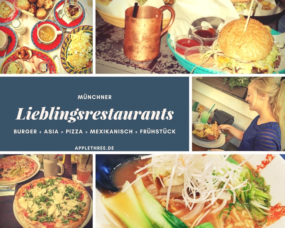 Meine 5 Lieblingsrestaurants in München #heimatverliebt