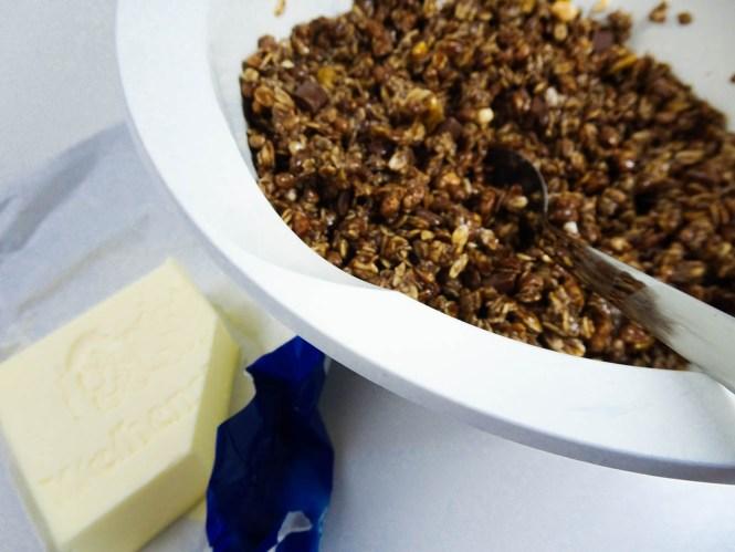 No Bake Quark Schnitten mit Weihenstephan Butter