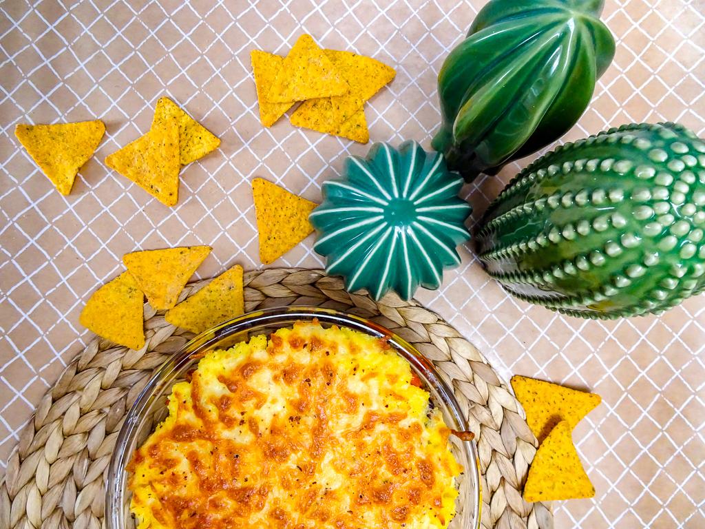 Mexikanischer Polenta–Auflauf