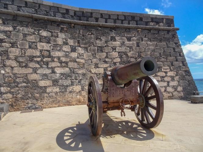 Lanzarote Castillo de San Gabriel