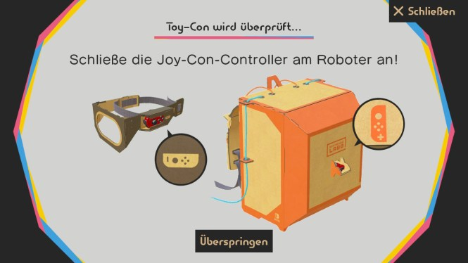 Nintendo Labo Roboter