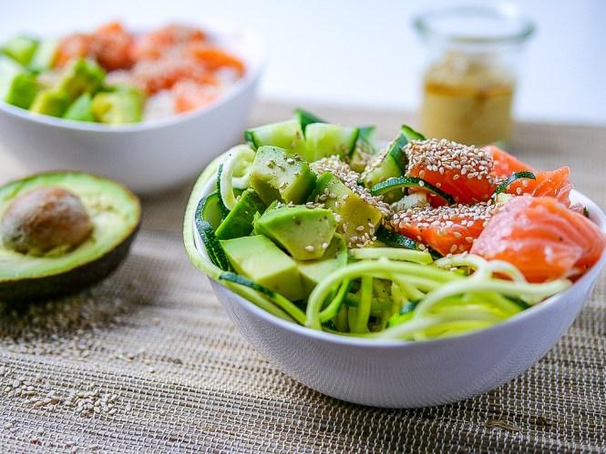 Sushi Bowl mit Sesam