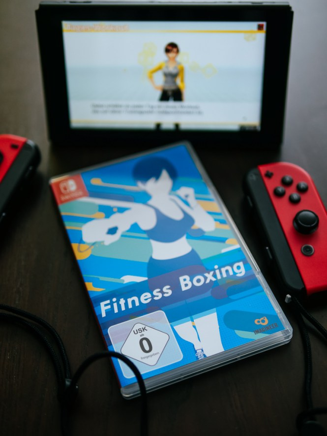 fitness boxing nintendo switch