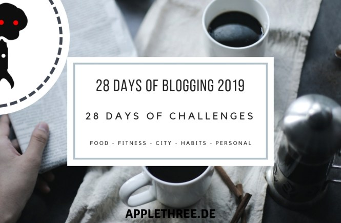 28 days of challenges