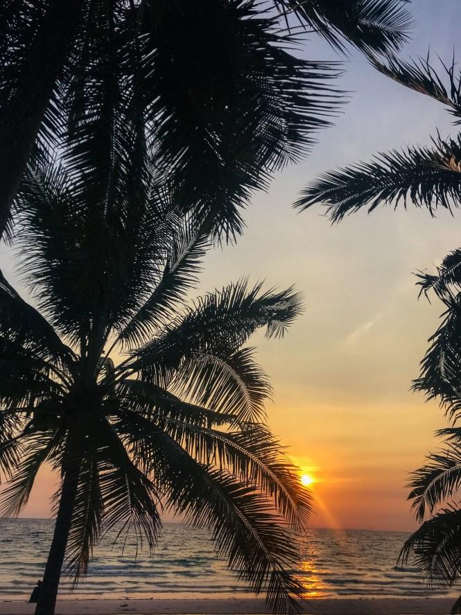 Sonnenuntergang auf Koh Rong, Kambodscha Sun Set Koh Rong, Cambodia