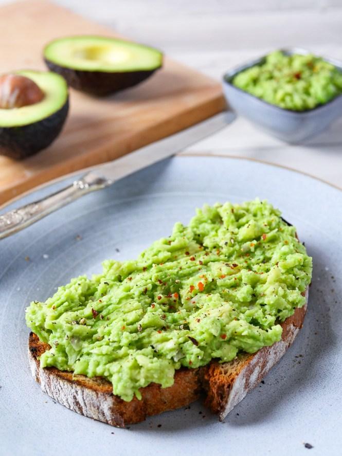 Avocado Aufstrich für Avocado Brot