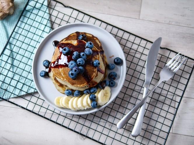 bananen Pancakes vegan