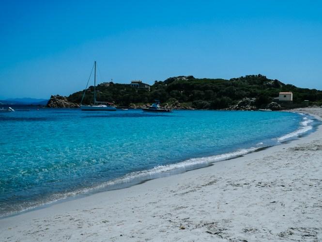 Santa Maria Strand Sardinien La Maddalena Archipel