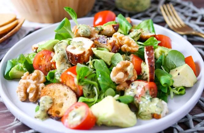 salat mit avocado