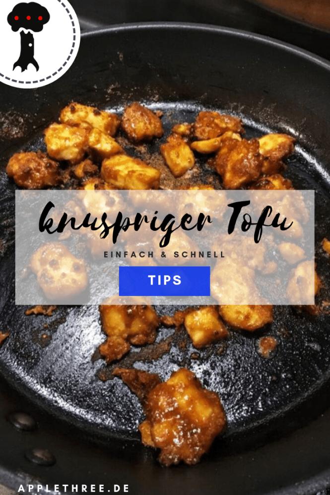 knuspriger Tofu