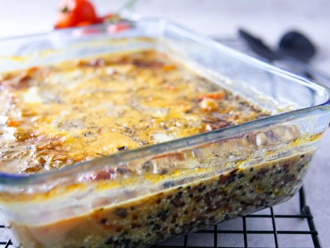 quinoa auflauf