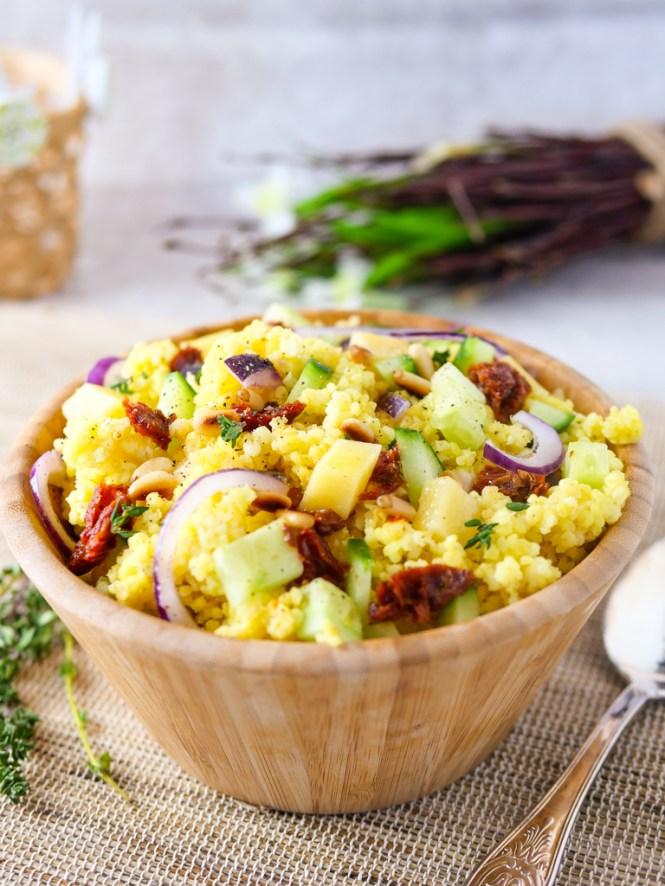 hirse salat rezept