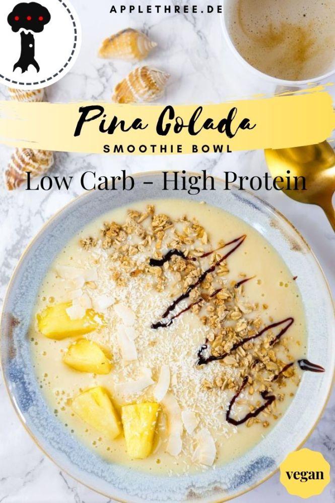 pina colada rezept smoothie bowl