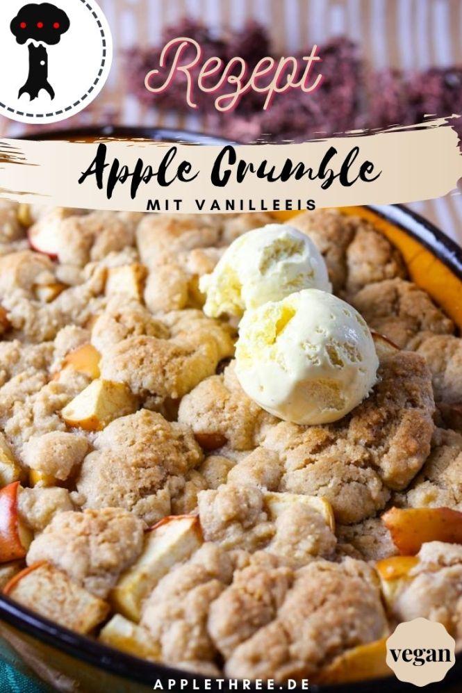 Apple Crumble Rezept für Apfel Crumble