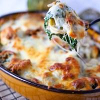 Tortellini Auflauf vegetarisch