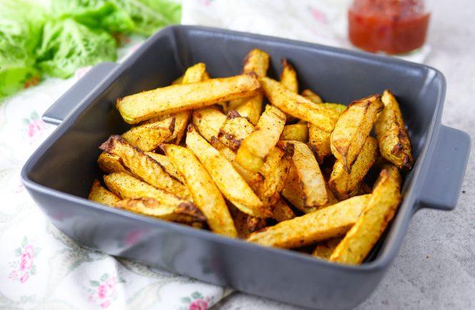 kohlrabi pommes rezept low carb vegan