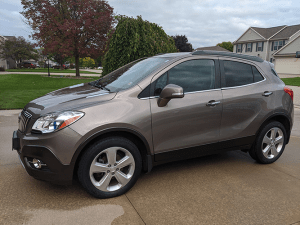 Buick SUV Detailed Side View