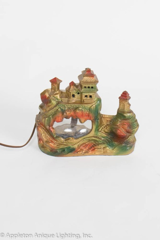 Vintage Fishbowl Lamp