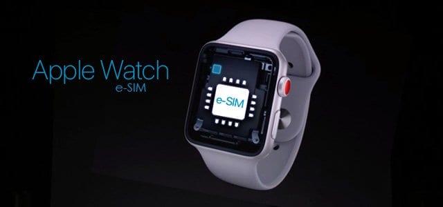 apple watch series 3 and 4 let eSIM