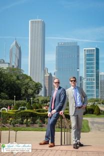 Grant Park Rose Garden Chicago Wedding-24