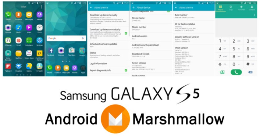 Fix Samsung Galaxy S5 problems after Marshmallow Android 6.0.1 update.