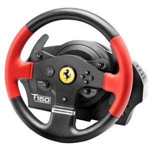 Thrustmaster 4168054 Console Steering Wheel in Black / Red
