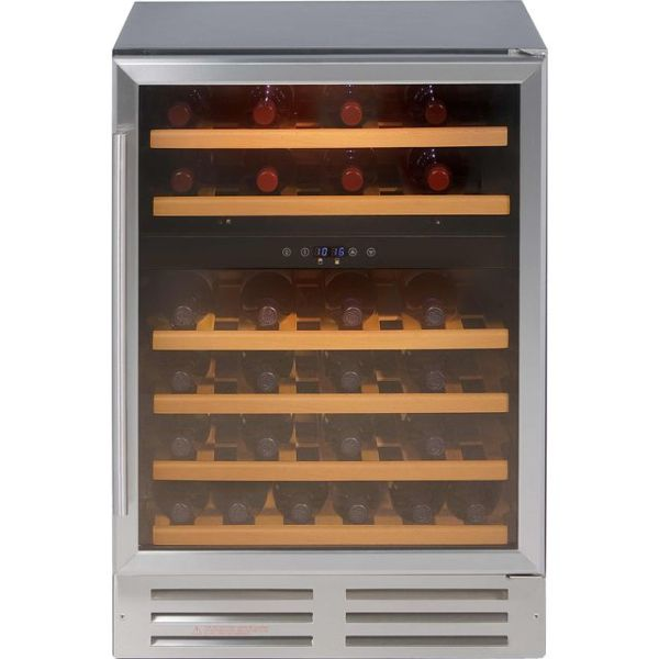 Belling Unbranded 600SSWC Integrated Wine Cooler in Stainless Steel