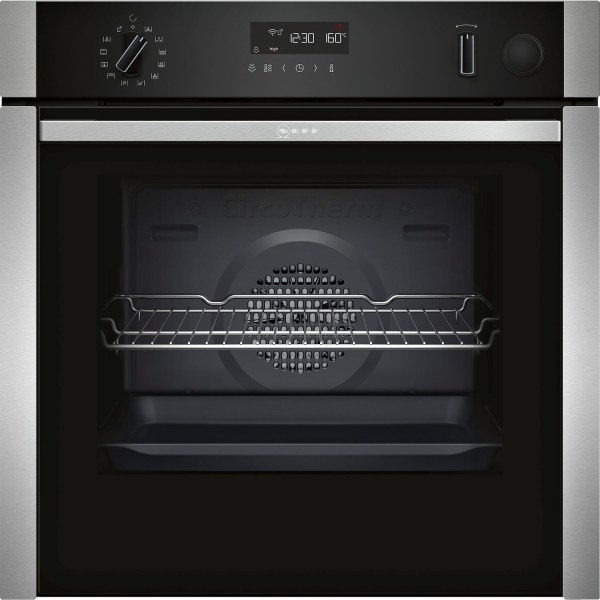 Neff B5AVM7HH0B built-in/under single oven Electric Built-in  in Stainless steel