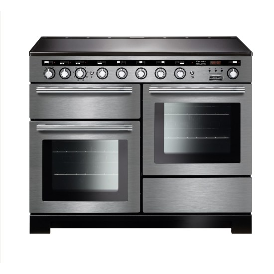 Rangemaster EDL110EISSC Encore Deluxe 110cm Electric Range Cooker with Induction Hob - Stainless Steel