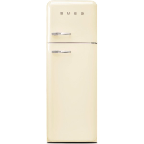 Smeg FAB30RCR3UK Freestanding Right Hand Hinge 70/30 Fridge Freezer - Cream