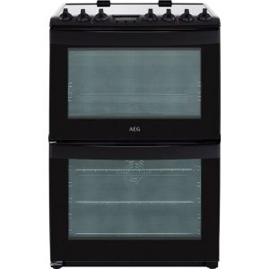 AEG CCB6740ACB Free Standing Cooker in Black