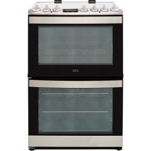 AEG CCB6740ACM Free Standing Cooker in Stainless Steel