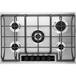 AEG HG75SY5451 Integrated Gas Hob in Stainless Steel