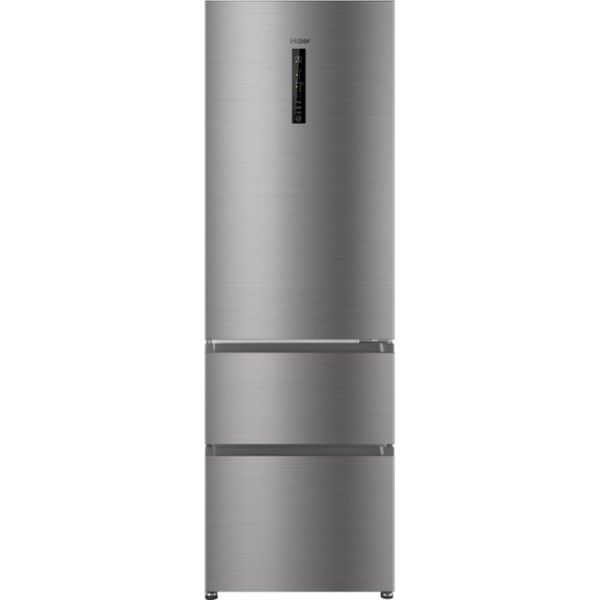 Haier AFE635CHJ Free Standing Fridge Freezer Frost Free in Silver